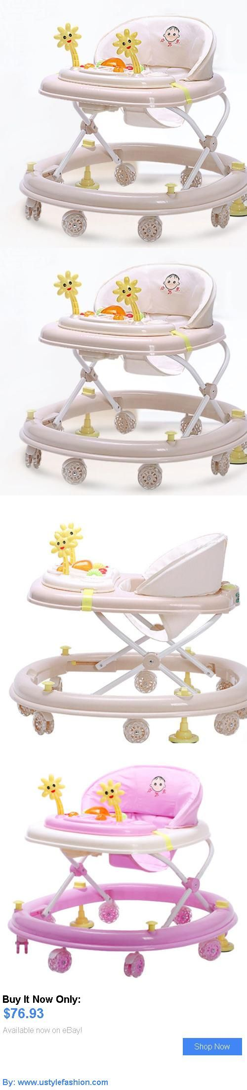 Baby walkers: Stylish Baby Walker Toddler Walk Learning Tools Adjustable Height Safety Walker BUY IT NOW ONLY: $76.93 #ustylefashionBabywalkers OR #ustylefashion