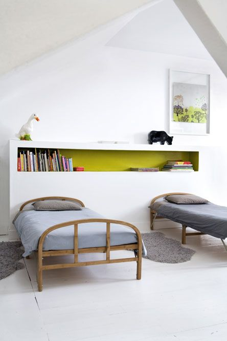 : Interior, Shared Room, De Lit, Kidsroom, Bedhead, Space, Kids Rooms