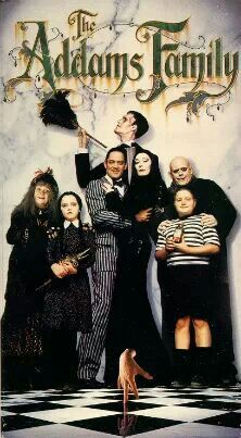 The Addams Family - I love this movie. They're such a delightfully creepy family!