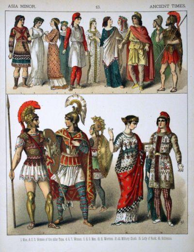 Description Ancient Times, Asia