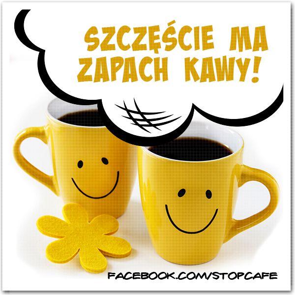 #Szczęście ma zapach kawy! #kawa www.facebook.com/stopcafe