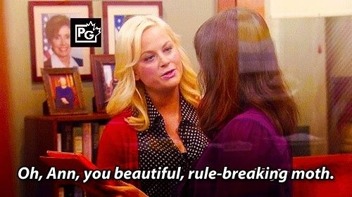 Leslie never hesitates to compliment Ann's beauty…   Community Post: Why Leslie Knope And Ann Perkins Are Pawnee's Ultimate Power Couple