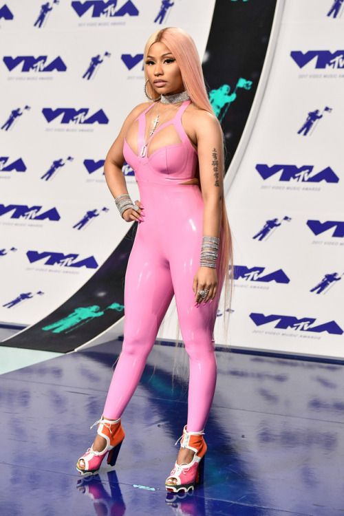 Nicki Minaj at MTV Video Music Awards (VMA) 2017