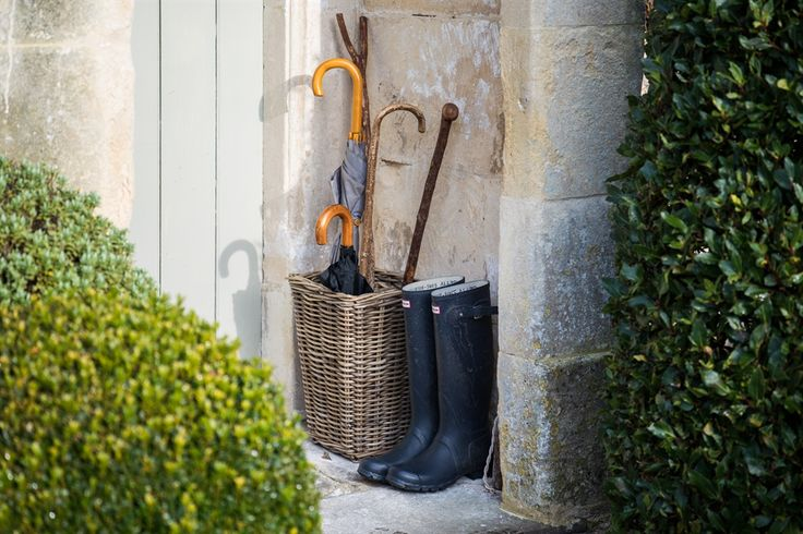 Neptune Somerton Willow Umbrella Basket