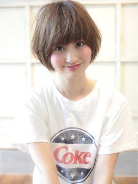 AFLOAT RUVUA 新宿 【アフロート ルヴア】 トップふんわり小顔カットとミルクティーカラーで美シルエット