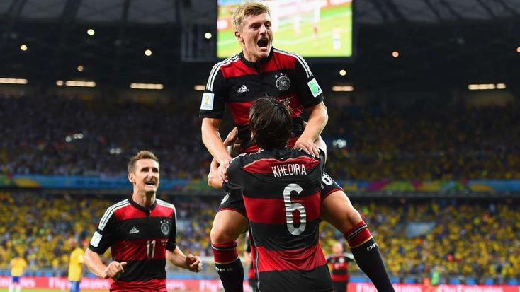 Deutschland im WM-Finale: Deutschland – Brasilien 7:1