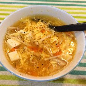 酸辣湯スープ*サンラータン by yuzuchoco [クックパッド] 簡単おいしいみんなのレシピが263万品