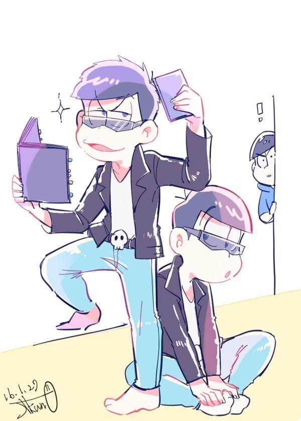 おそ松さん Osomatsu-san 一松事変 一松&おそ松 それを見つめるカラ松