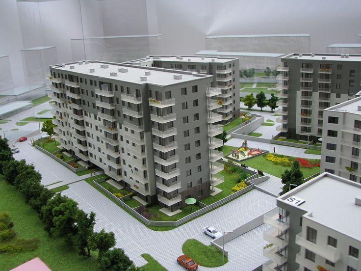 makieta osiedla w Gdańsku