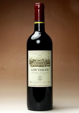 LOS VASCOS CABERNET SAUVIGNON 昨日飲んだワイン。