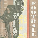 Football Player Vintage Tin Sign