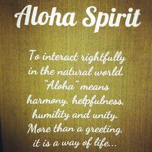 Hawaii State Aloha Spirit