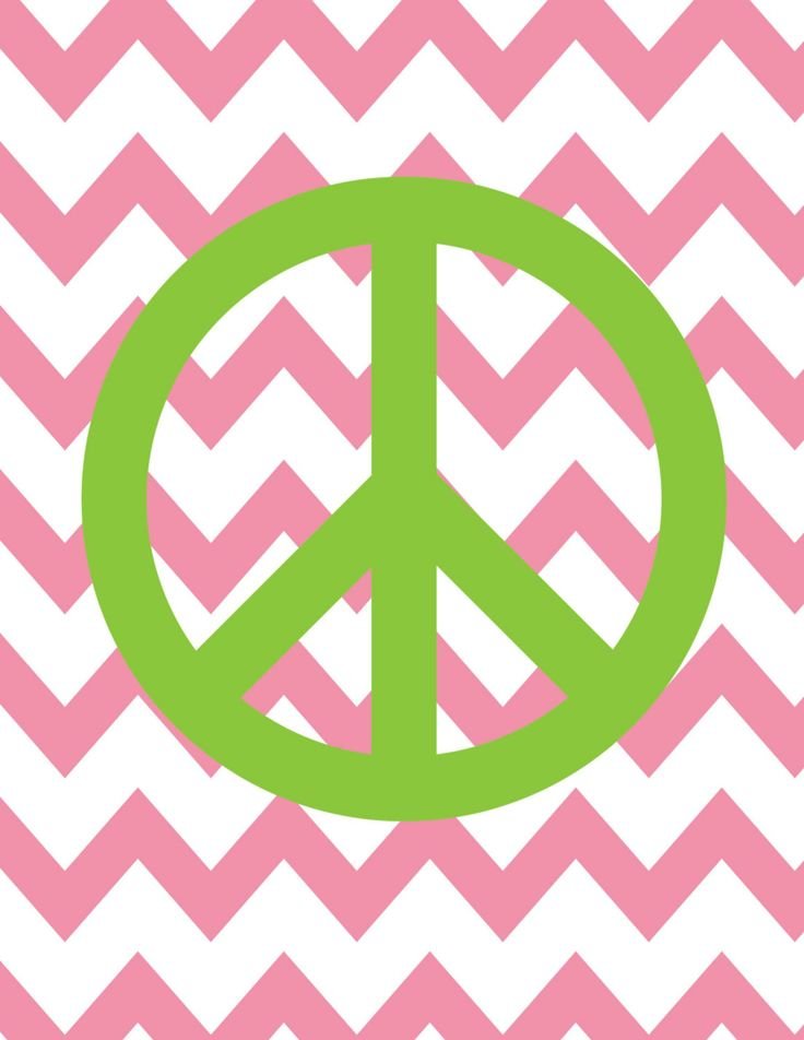 Teen Room Decor   Peace Sign Chevron Background   Custom Colors   Size. 20 best peace signs images on Pinterest