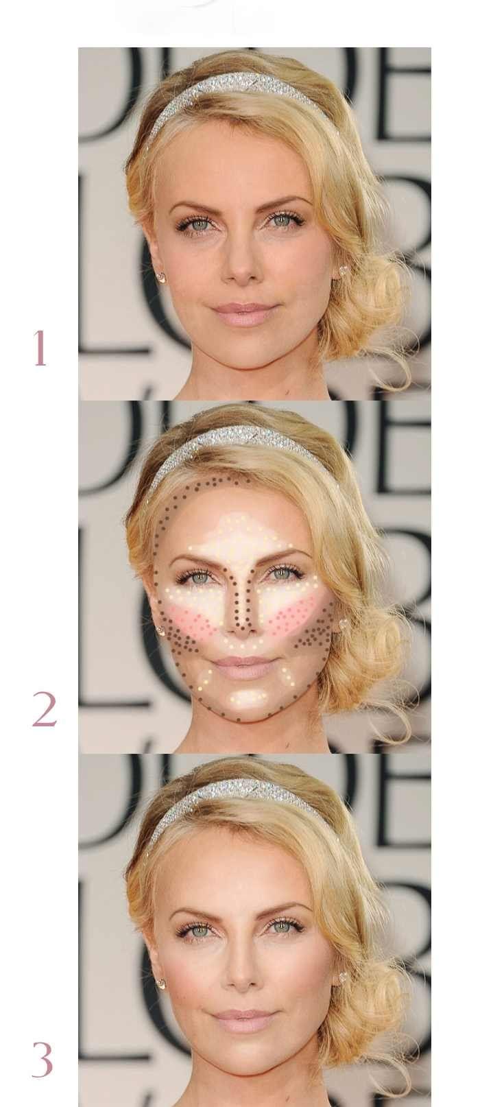 Maquillaje para cara ovalada