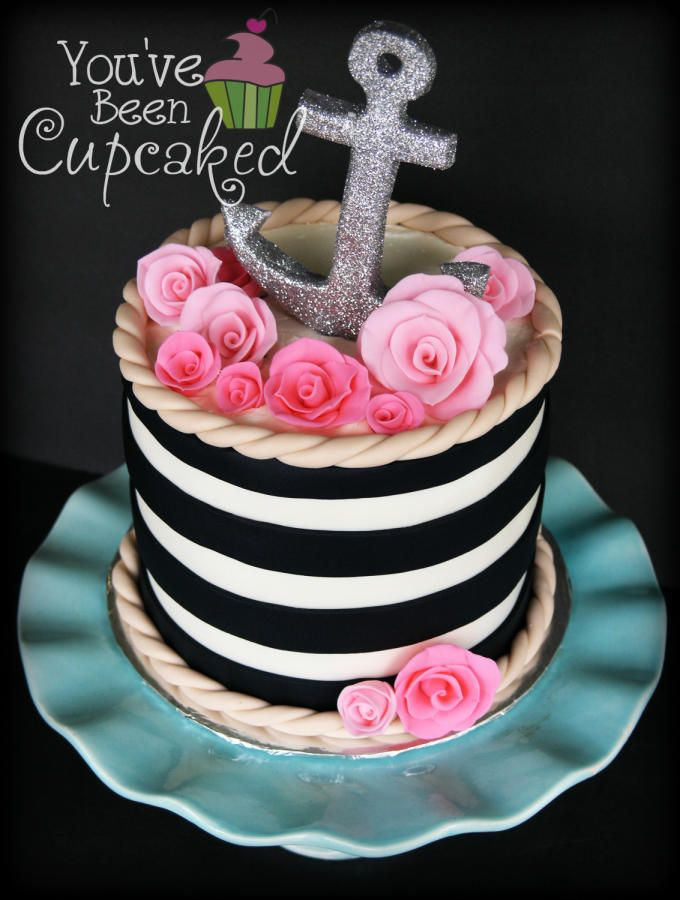 46 Best Nautical Cakes Images On Pinterest Anniversary Cakes