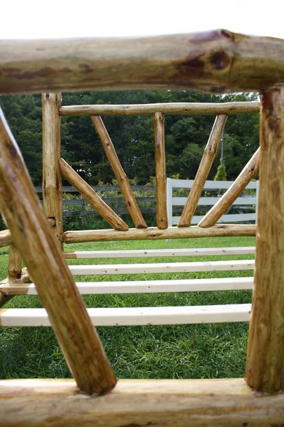 Rustic Bed Frame   Queen Size