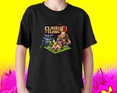Clash of Clan Mens And Womens Youth T shirt