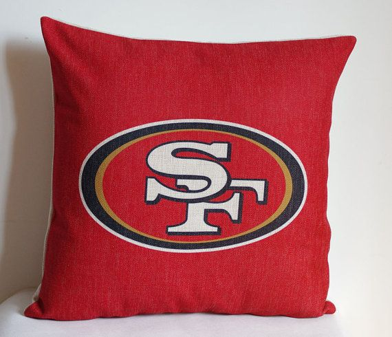 NFL San Francisco 49ers pillow San Francisco by DecorPillowStore