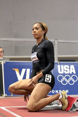Real inspiration — athletes not models: Sanya Richards-Ross: Track and Field