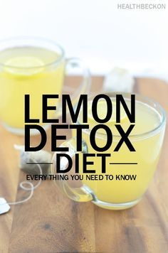 Lemon Detox Diet – Everything You Need To Know: Thus, if you are troubled by o…