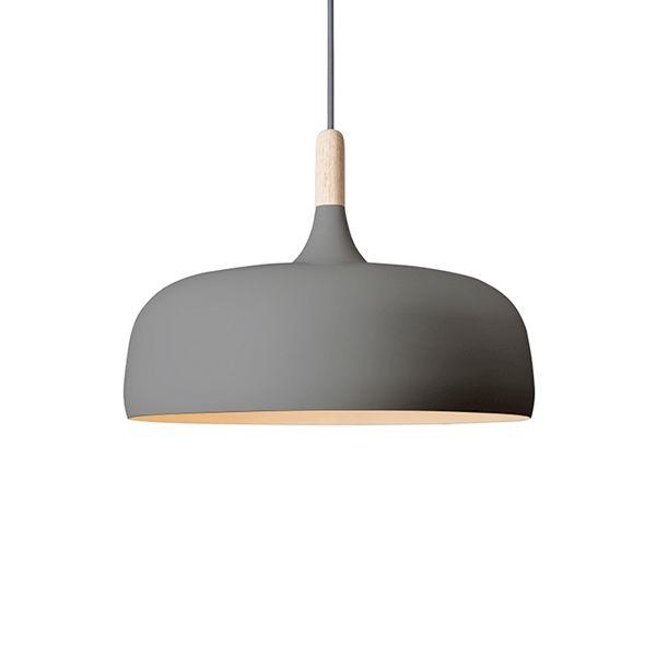 Northern Lighting Acorn Grey Pendel