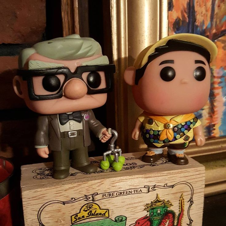 "59 Me gusta, 2 comentarios - Brad  Campbell (@bjc3000) en Instagram: ""Just missing Doug!  #up! #pixar #popvinyls #pop! #pop #collection #carl #russel #disney #funko…"""