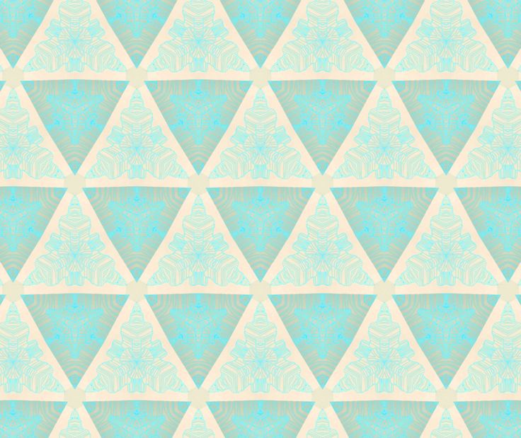 Pattern A Day 2012  Day 101 - Triangle Snowflakes: Pretty Patterns, Triangles, Illustration, Triangle Snowflakes, 101, Simple Patterns