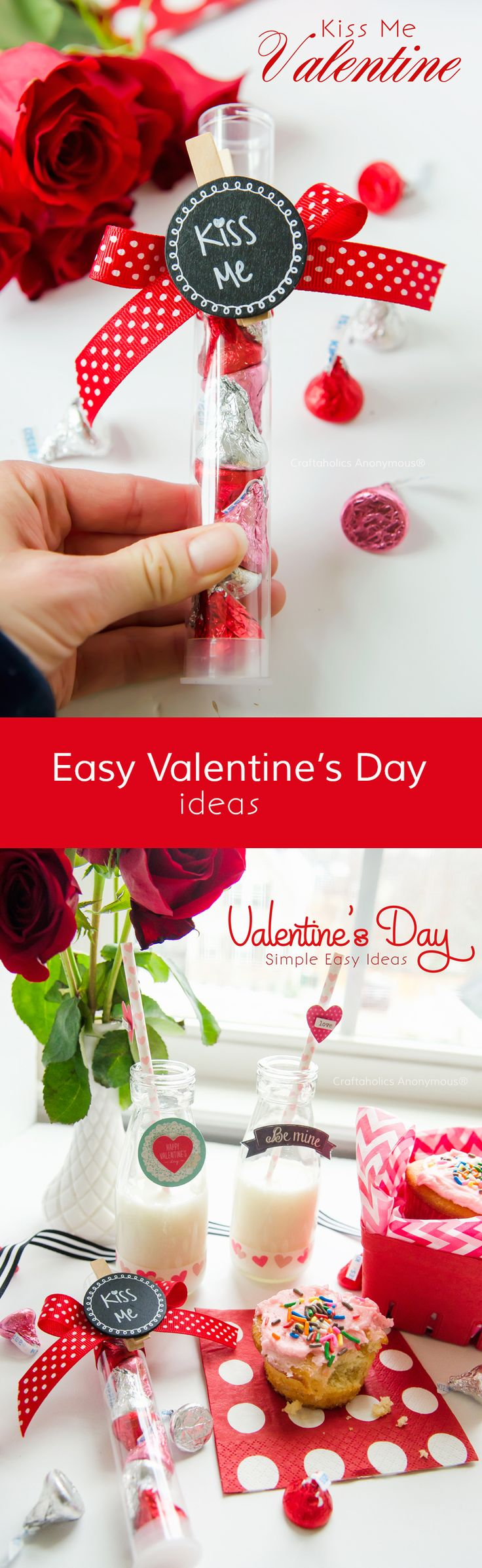 Easy Valentines Day Ideas that can be done quickly and on a small budget #OneSpotValentine