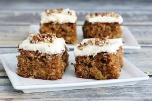 moist carrot cake with pineapple and cream cheese frosting - Diana Rattray