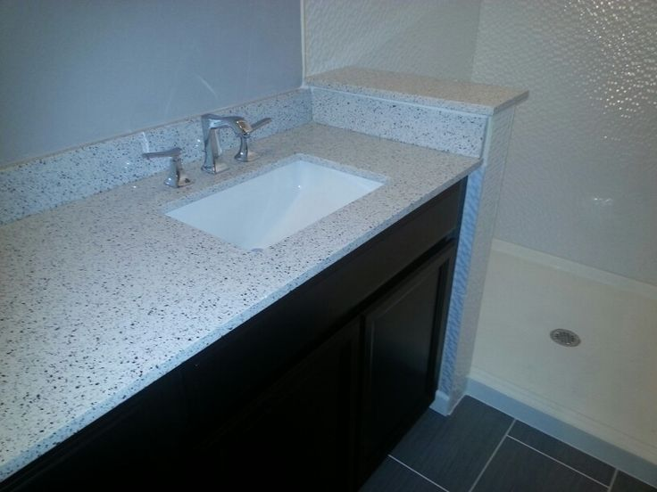 White Platinum By Silestone In Master Bath Hansgrohe Faucet Home Renovation Pinterest