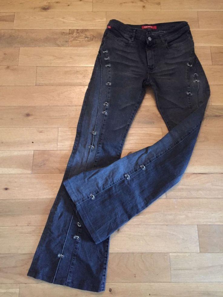 Miss sixty ladies jeans. Size 30 - U.K. Size 12. Stretch bootleg. | eBay!