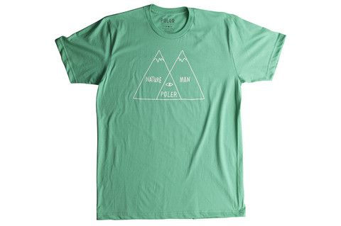 Poler Venn Diagram T-shirt - Forest Service Green www.westgoods.co