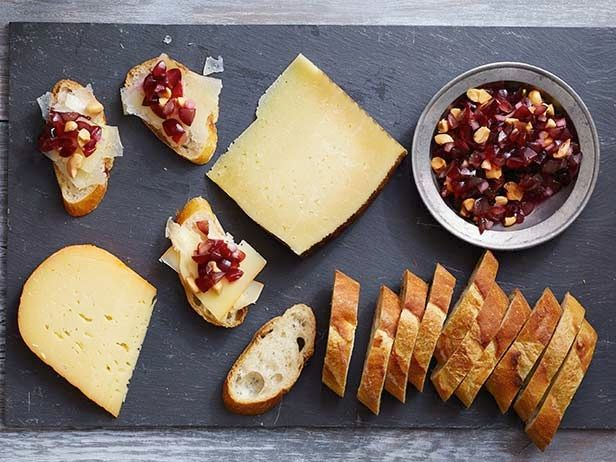 Cheese Plate with Grape Tapenade Recipe : Food Network Kitchens : Food Network - FoodNetwork.com