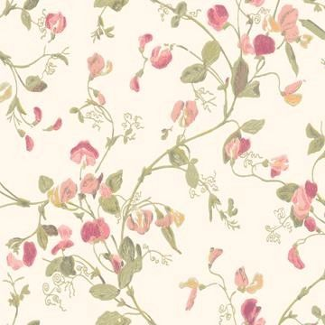 Cole & Son Sweet Pea Tapet