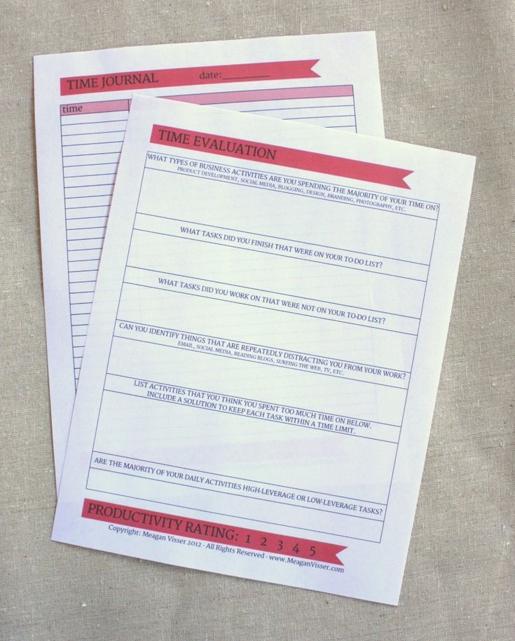 Best 25+ Time management worksheet ideas on Pinterest | Project ...