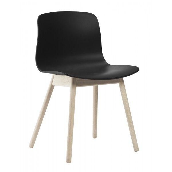 Hay - chaise About A Chair AAC12 / AAC13 - piètement bois, sans accoudoir