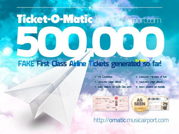Más de 25 ideas increíbles sobre Ticket generator en Pinterest - fake ticket maker