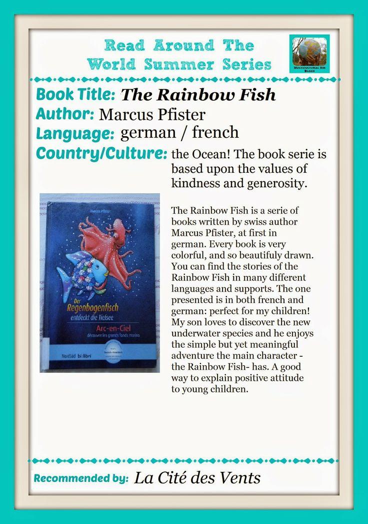 Livre: Le poisson arc-en-ciel / Book: The Rainbow Fish / Buch: Der Regenbogenfisch  Friendship and kindness on the menu!
