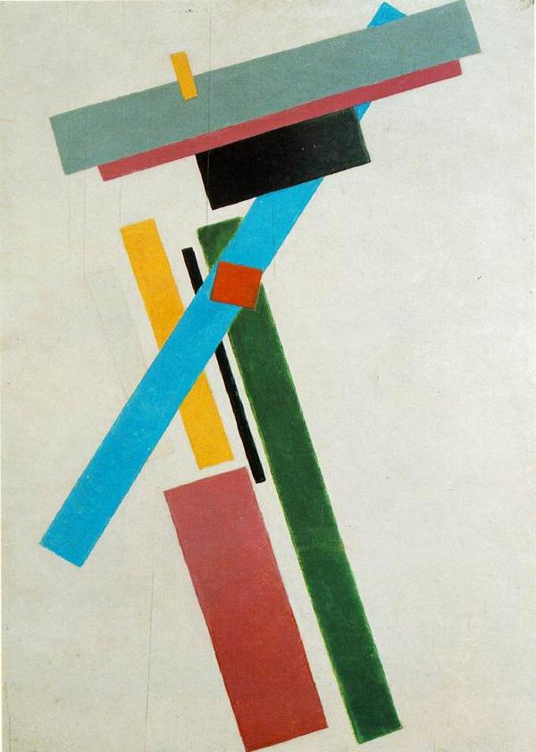Kazimir Malevich, Suprematism, 1915