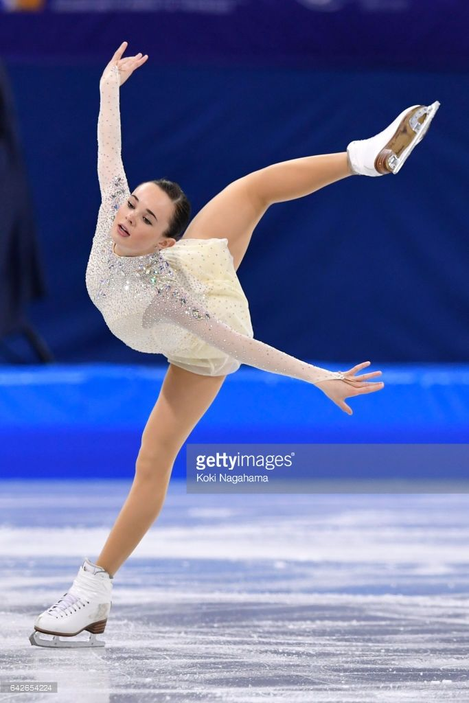 News Photo : Mariah Bell of United States competes in the...