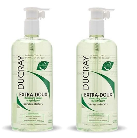 Ducray Shampooing Extra Doux Duo 400ml - Pharmacie Lafayette - Usage fréquent