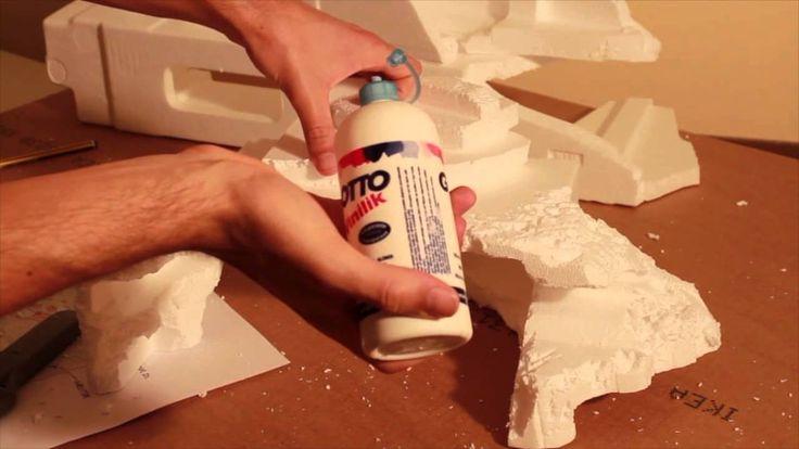 Presepe natalizio: Creare le montagne e muri - Parte2