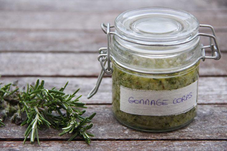 DIY – gommage corps au sel de Guérande et romarin   Wonderful Breizh