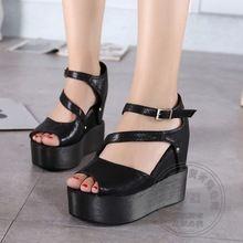 Wedge Microfiber Casual Pu Black Repair Dough Brand Shoes Women Soft Leather…