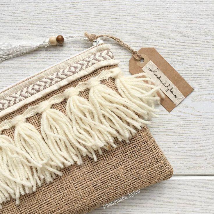 Boho clutch boho purse boho handbags tropical clutch