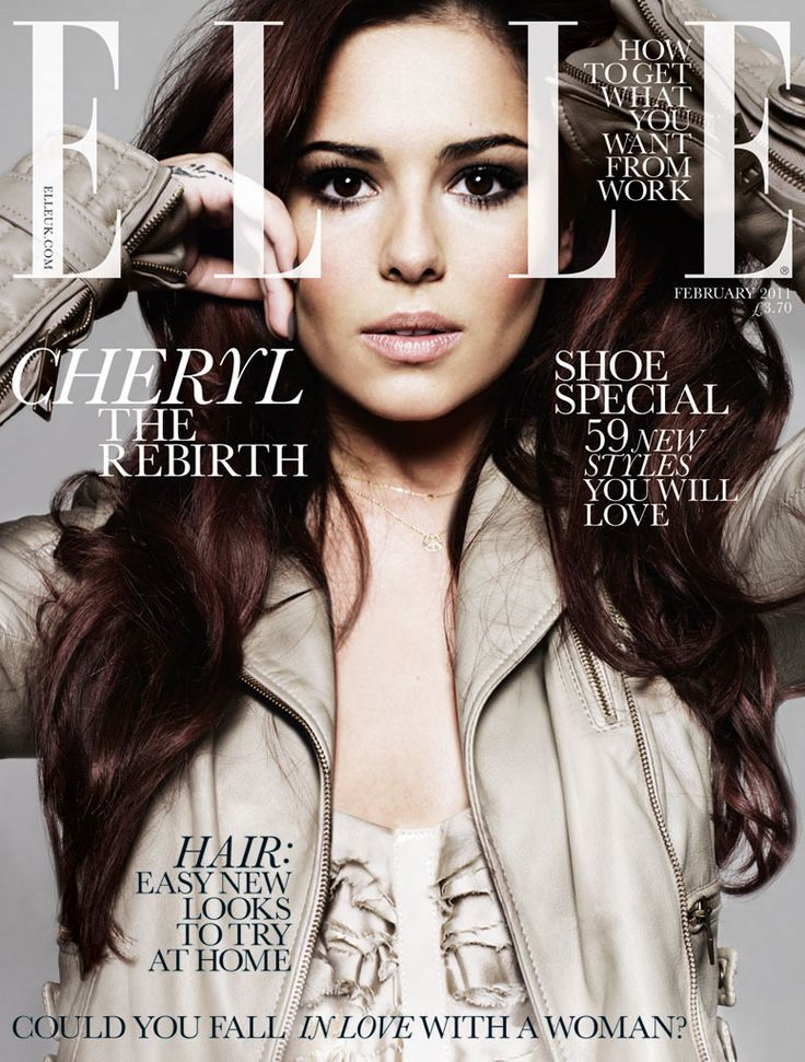 BRITISH ELLE - FEBRUARY 2011 MODEL : Cheryl Cole