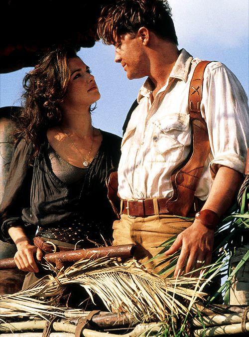 Rachel Weisz and Brenden Fraser in the Mummy Returns
