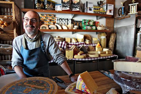 Q & A with Norbert Wabnig of Beverly Hills' The Cheese Store of Beverly Hills.