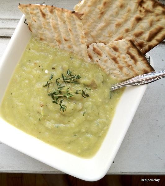 Potato Leek Soup: Caesar Salad, Spring Recipes, Potato Leek Soup