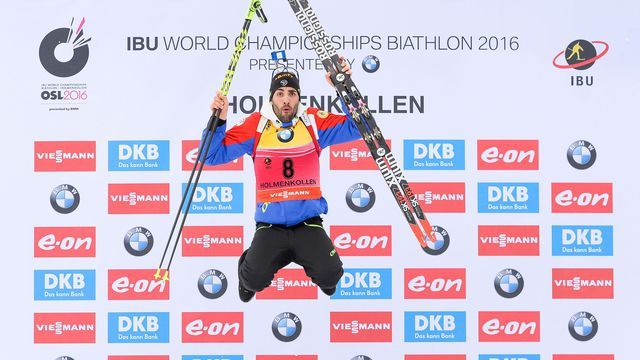 Biathlon: 9ème titre mondial pour Martin Fourcade